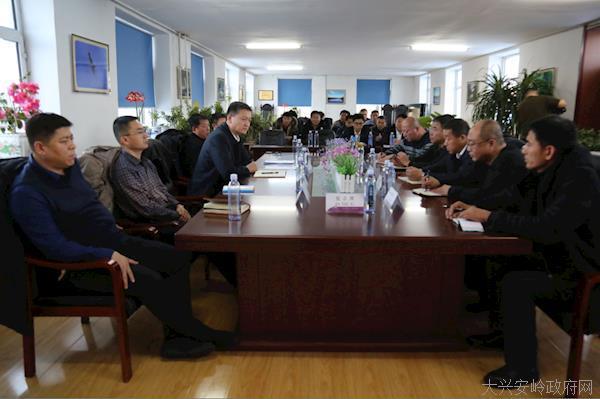 阿木尔局党委副书记、局长鲁智勇走入基层强调突出主责主业,增强职工群众的幸福感、获得感