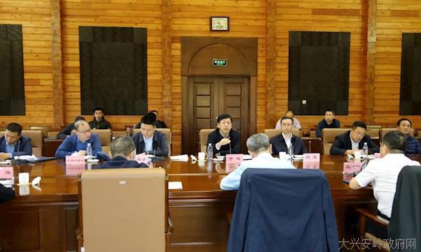 国家林草局华东调查规划设计院考察组到我区考察 于辉陪同并出席座谈会