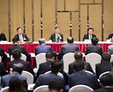 汪洋韩正分别参加全国两会一些团组讨论和审议