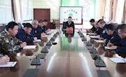 阿木尔局党委副书记、局长鲁智勇在防火办主持召开森林防火专题局长办公会