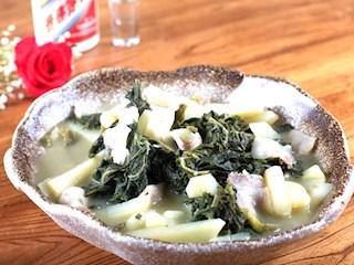 鸭嘴菜炖土豆条