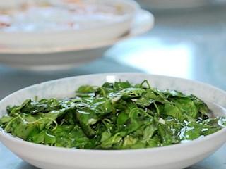 清炒四叶菜