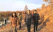 行署副专员、公安局党委书记、局长赵清同志深入加格达奇林业局检查春季森林防火工作