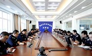 地区公安局党委副书记崔希林主持召开政工例会安排部署近阶段系列工作