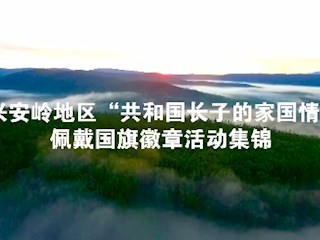 """大兴安岭地区""""共和国长子的家国情怀""""佩戴国旗徽章2018白菜送彩金全讯网"""