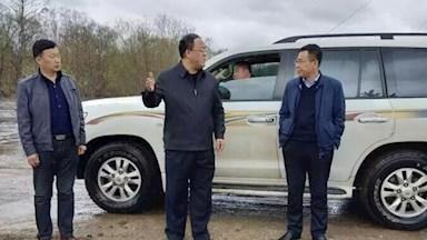 韩家园林业局党政主要领导深入一线检查指导防汛工作