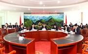 地委书记苏春雨出席地区扫黑除恶专项斗争领导小组(扩大)会议