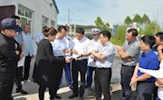 行署副专员刘洪久就企业项目建设手续办理情况开展专项调研并召开座谈会