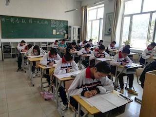 松岭区教育局组织中考模拟考试