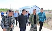 塔河县县委书记周魁伟深入基层进行调研检查