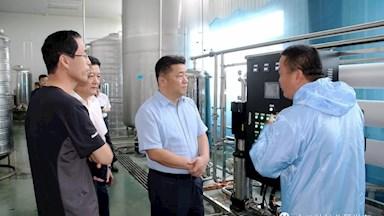 地委委员、地委宣传部部长李佰铮深入十八站林业局进行调研