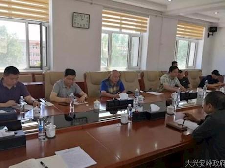 黑龙江省农业农村厅董海龙处长深入松岭区就春季重大动物疫病防控工作进行调研