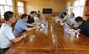 地区人大地工委副主任、地区总工会主席李泽清深入阿木尔局调研