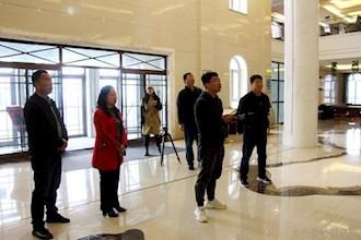 """省电视台""""壮丽70年 龙江之歌""""采访报道组深入阿木尔局采访"""