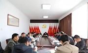 地委委员、地委秘书长王洪斌一行深入松岭区开展调研