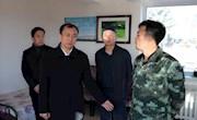 政协地工委副主任刘海森深入加林局检查秋防工作