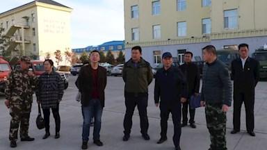 省发改委检查组赴加格达奇林业局检查指导防火各项工作