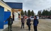 图强林业局副局长、森林防火专职指挥杨跃斌深入驻防外站及二十八站管护区进行检查和调研