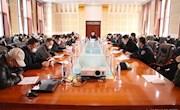 阿木尔局召开谋划项目征求意见会
