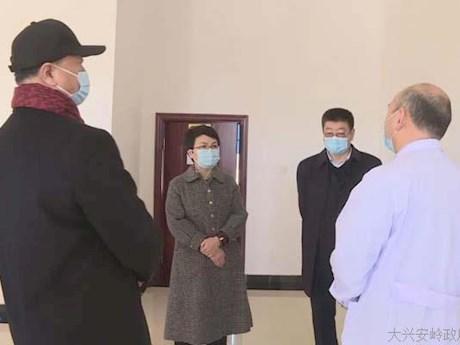 行署副专员蒋迎娟深入漠河市督导检查疫情防控和春防工作
