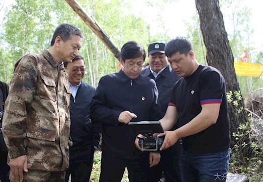 大兴安岭林业集团公司党委书记、总经理于辉深入阿木尔林业局就推进林企改革进行调研