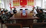 松岭林业局党政负责人马铭深入各战区检查夏季防火工作